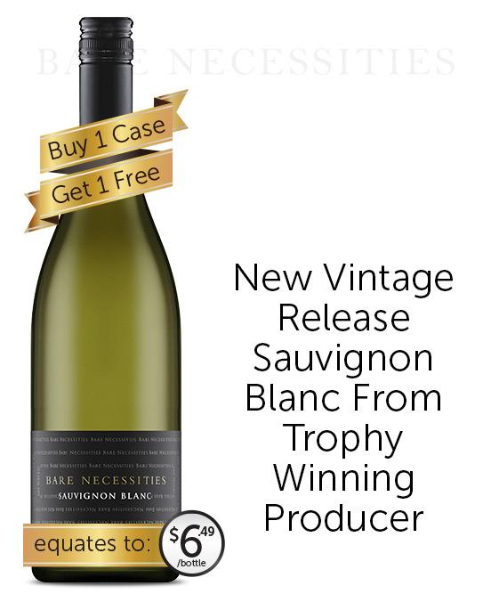 Bare Necessities Sauvignon Blanc 2021