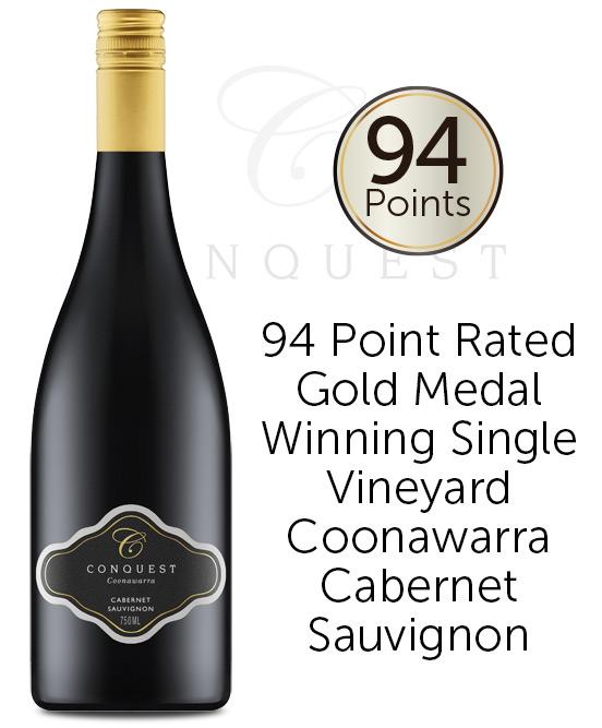 Conquest Coonawarra Cabernet Sauvignon 2018