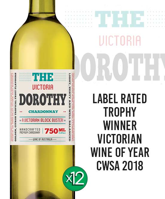 The Dorothy Victorian Chardonnay 2018 Dozen
