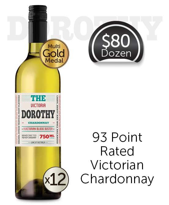 The Dorothy Victorian Chardonnay 2019 Dozen