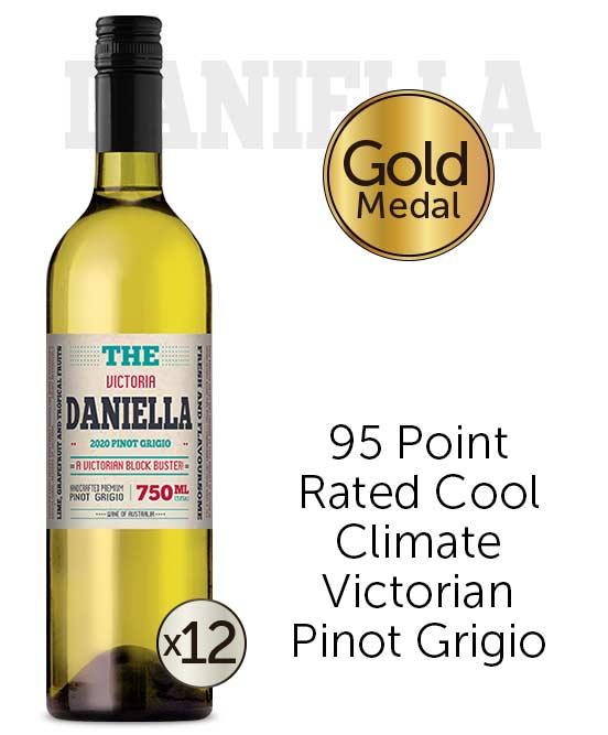 The Daniella Victorian Pinot Grigio 2020 Dozen