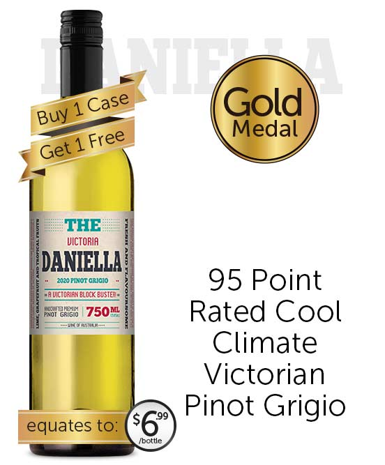 The Daniella Victorian Pinot Grigio 2020