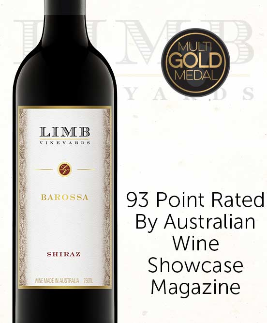 Limb Single Vineyard Barossa Valley Shiraz 2017