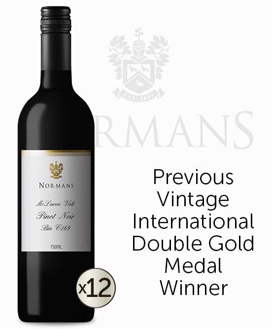 Normans Bin C169 McLaren Vale Pinot Noir 2018 Dozen