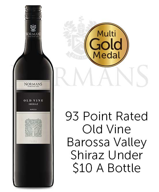 Normans Old Vine Barossa Valley Shiraz 2018
