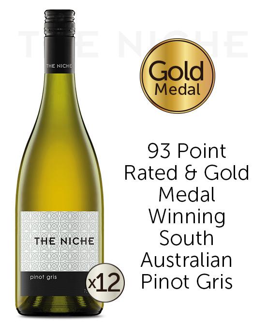 Niche Pinot Gris 2021 Dozen