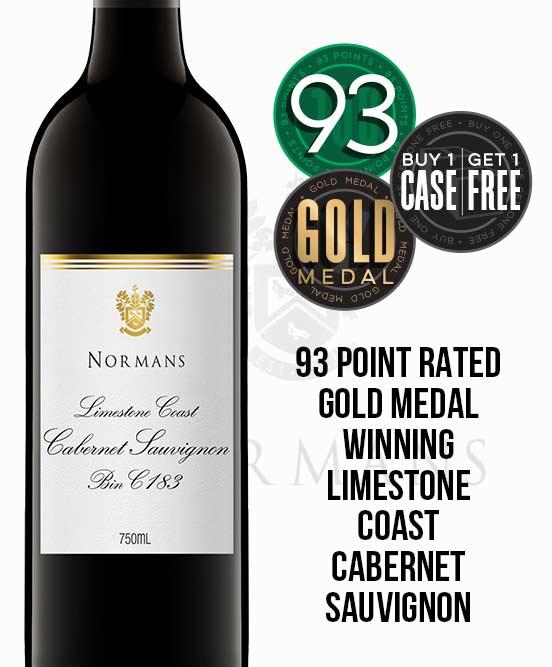 Normans Bin C183 Limestone Coast Cabernet Sauvignon 2017