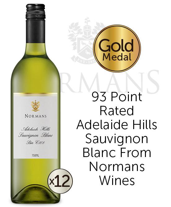 Normans Bin C108 Adelaide Hills Sauvignon Blanc 2020 Dozen