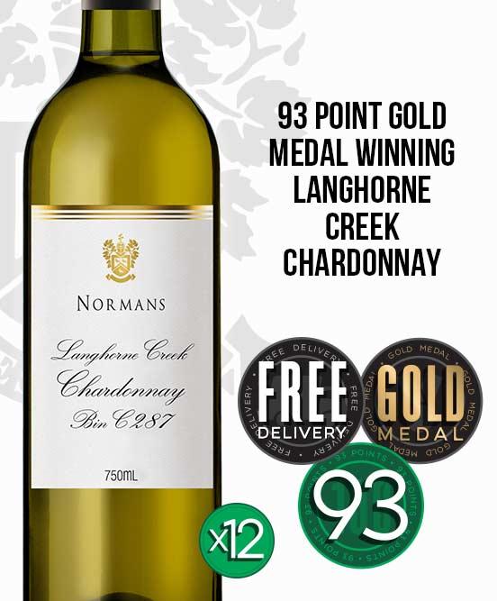 Normans Bin C287 Langhorne Creek Chardonnay 2017 Dozen