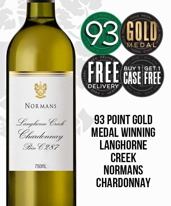 Normans Bin C287 Langhorne Creek Chardonnay 2017