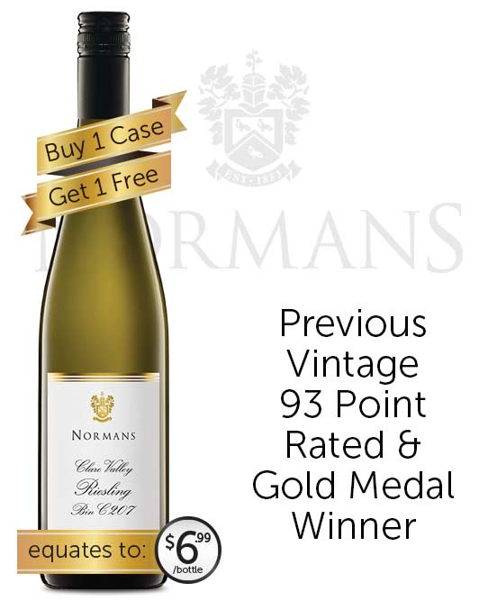 Normans Bin C207 Clare Valley Riesling 2019