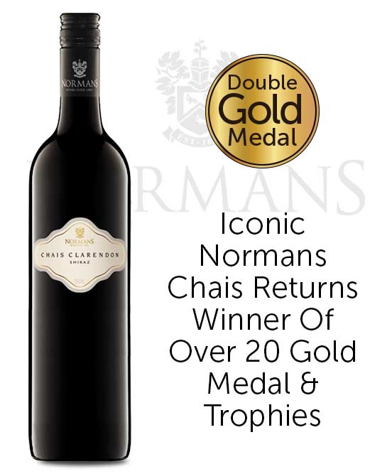 Normans Chais Clarendon McLaren Vale Shiraz 2016