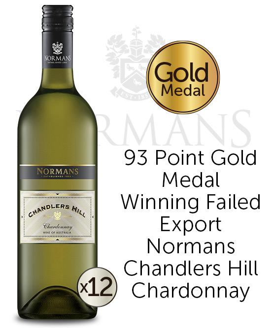 Normans Chandlers Hill Chardonnay 2021 Dozen