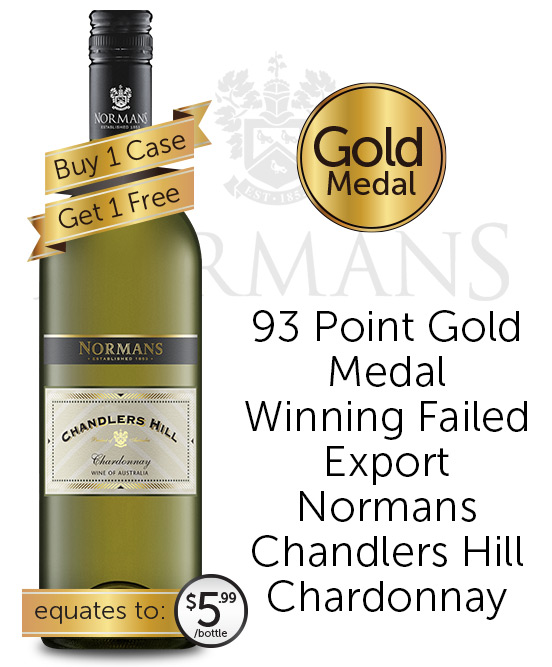 Normans Chandlers Hill Chardonnay 2021