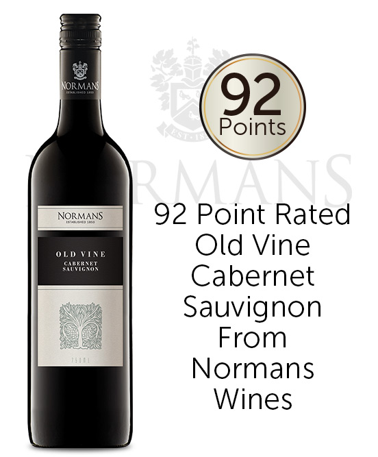 Normans Old Vine Barossa Valley Cabernet Sauvignon 2017