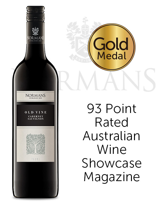 Normans Old Vine Barossa Valley Cabernet Sauvignon 2018