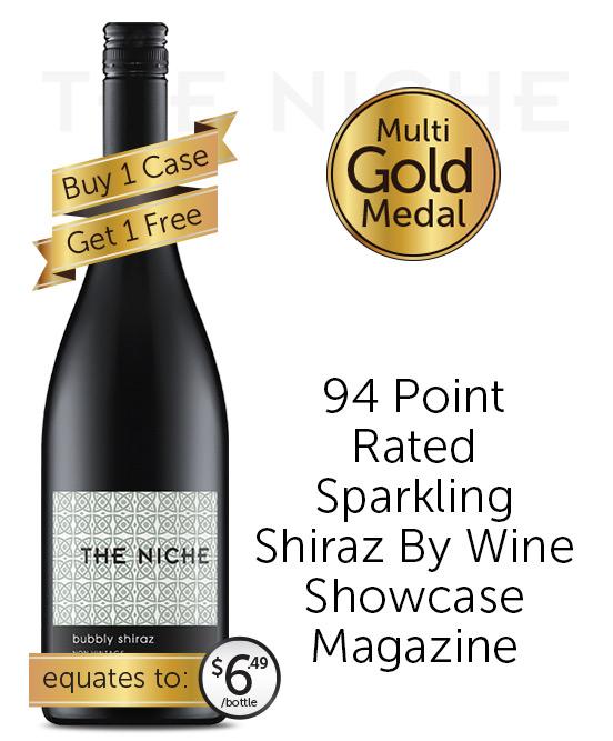 Niche Sparkling Shiraz Nv