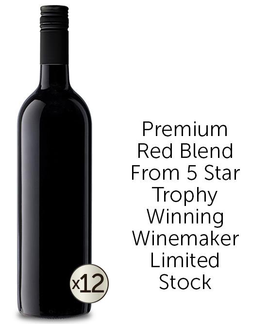 Trophy Winning McLaren Vale Winemakers Red Blend Dozen