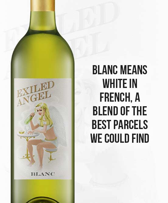 The Exiled Angel Blanc
