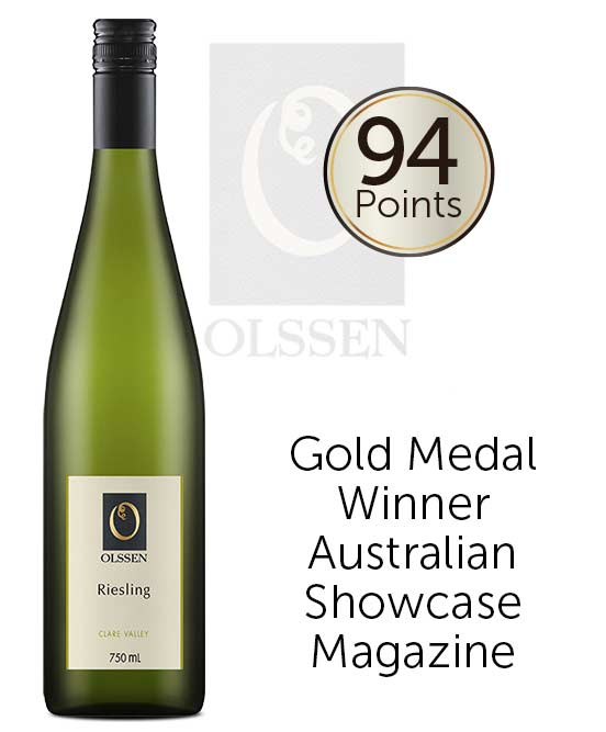 Olssen Of Watervale Clare Valley Riesling 2018
