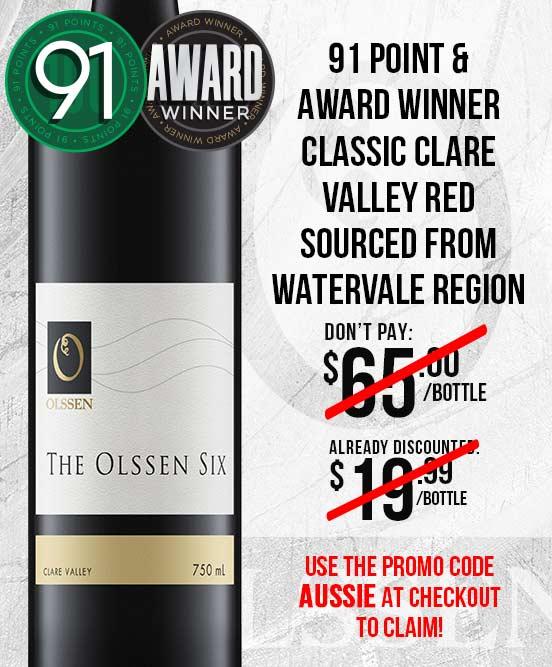 Olssen of Watervale The Olssen Six Clare Valley 2015