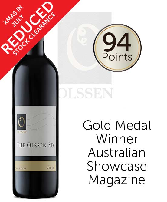 Olssen of Watervale The Olssen Six Clare Valley Red 2017