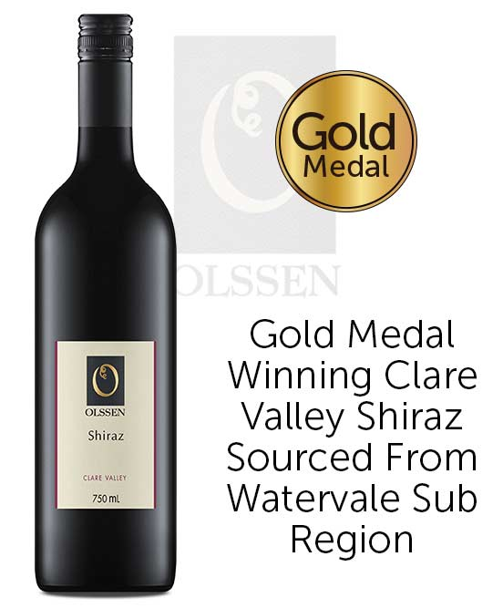 Olssen Of Watervale Clare Valley Shiraz 2017