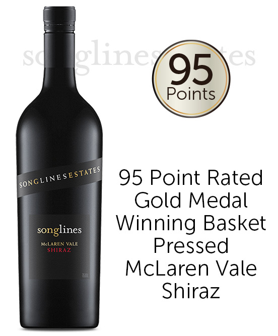 Songlines Estates Basket Pressed McLaren Vale Shiraz 2017