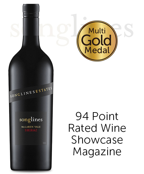 Songlines Estates Basket Pressed McLaren Vale Shiraz 2018
