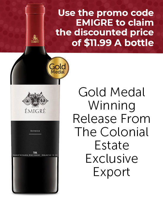 The Colonial Estate Emigre Shiraz 2016