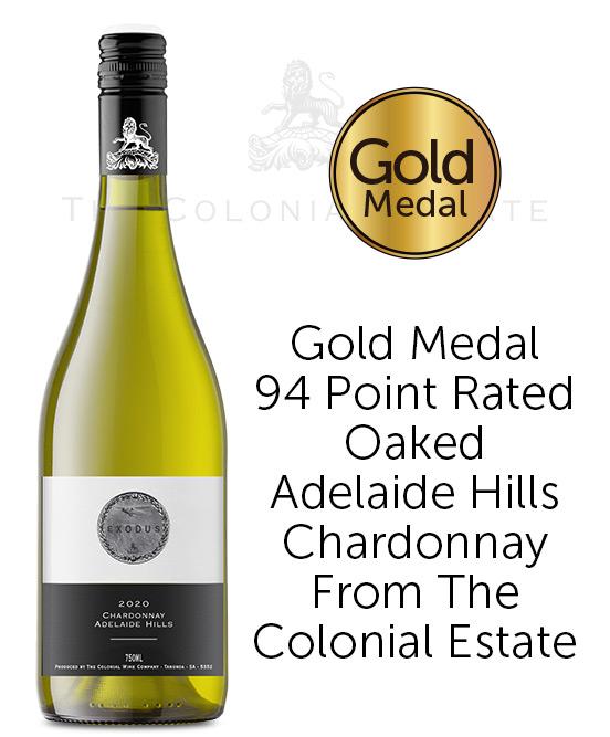 The Colonial Estate Exodus Adelaide Hills Chardonnay 2020