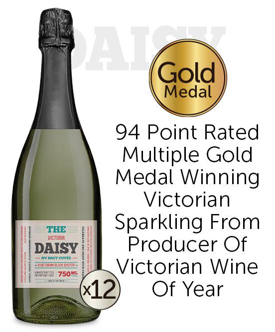 The Daisy Victorian Sparkling Nv Dozen