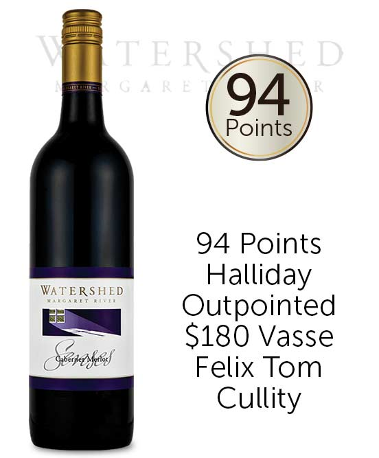 Watershed Senses Margaret River Cabernet Merlot 2016