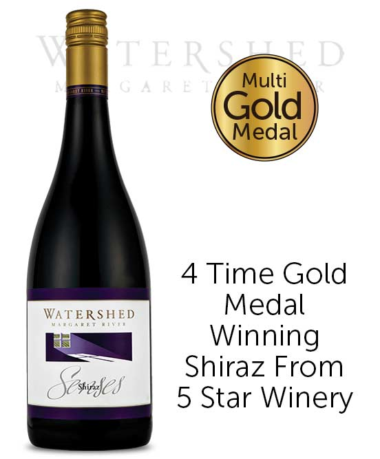 Watershed Senses Margaret River Shiraz 2015