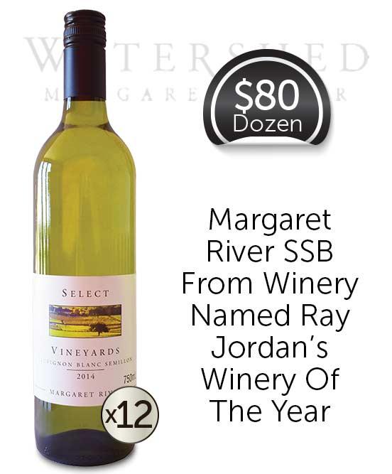 Watershed Select Vineyards Margaret River Sauvignon Blanc Semillon 2014 Dozen