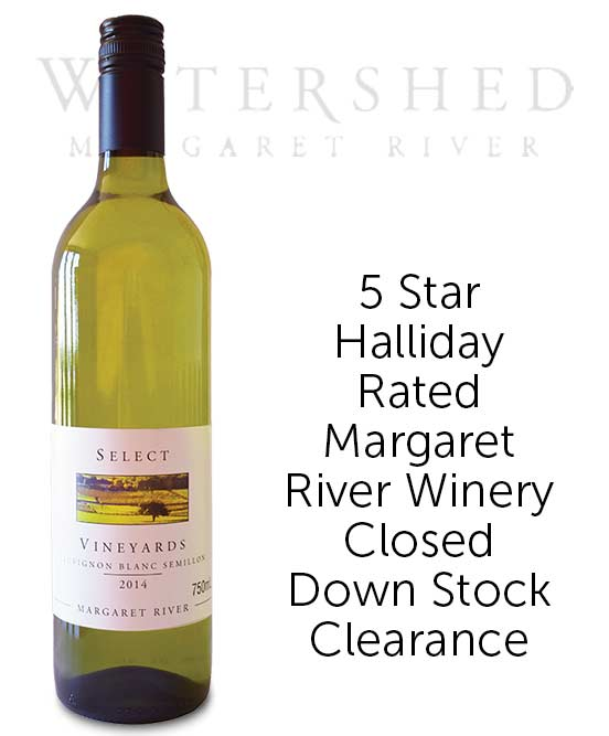 Watershed Select Vineyards Margaret River Sauvignon Blanc Semillon 2014