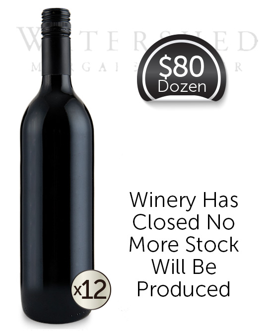 Watershed Select Vineyards Margaret River Merlot 2016 Cleanskin Dozen