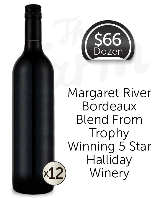 Watershed The Farm Margaret River Classic Red 2015 Cleanskin Dozen