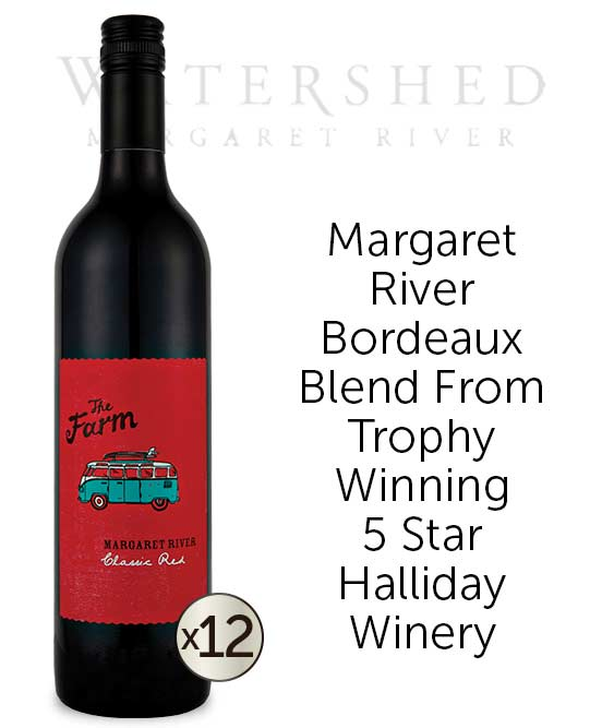 Watershed The Farm Margaret River Classic Red 2015 Dozen