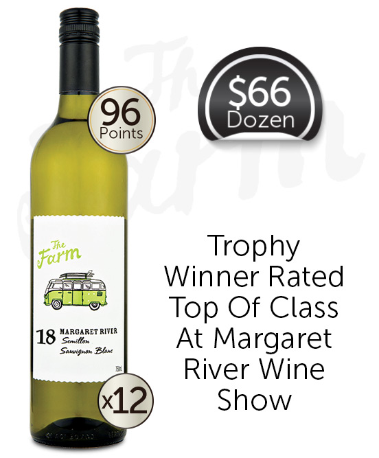 Watershed The Farm Margaret River Sauvignon Blanc Semillon 2018 Dozen