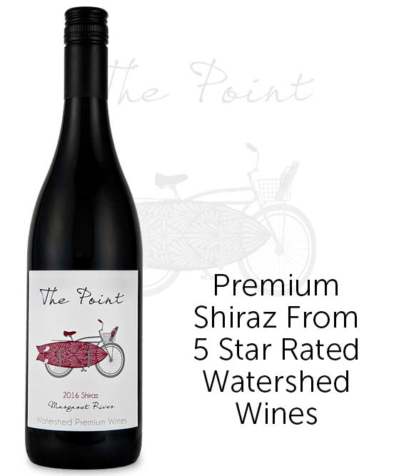 Watershed The Point Margaret River Shiraz 2016