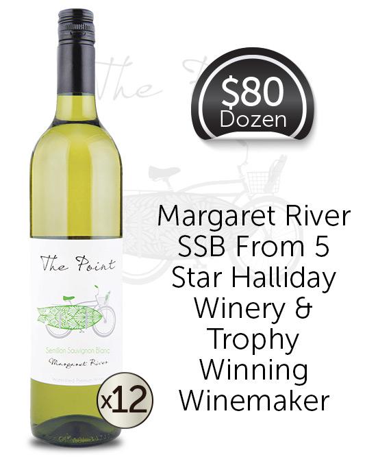 Watershed The Point Margaret River Semillon Sauvignon Blanc 2018 Dozen