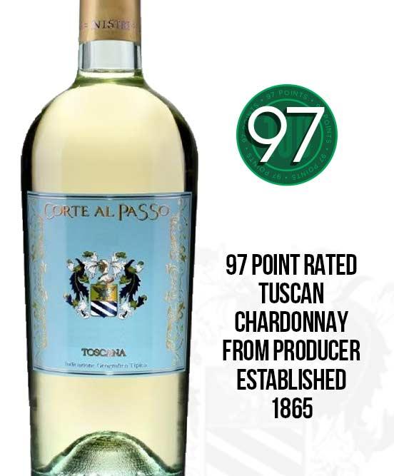 Corte Al Passo Chardonnay Banco IGT Toscana 2017