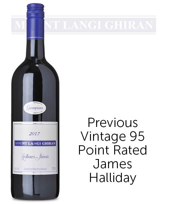 Mount Langi Ghiran Hollows Grampians Shiraz 2017