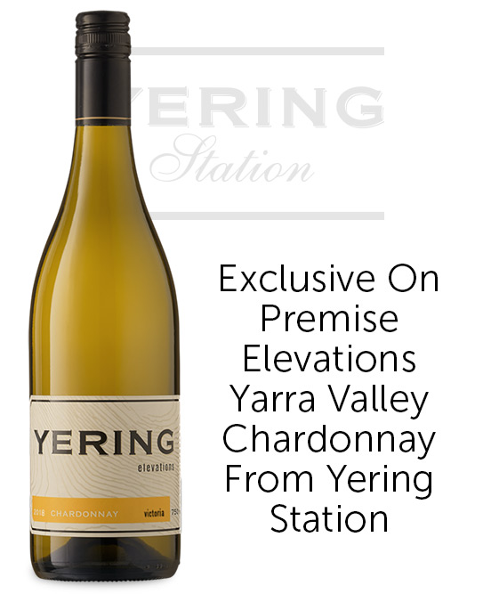 Yering Station Elevations Yarra Valley Chardonnay 2018