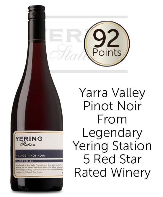 Yering Station Village Yarra Valley Pinot Noir 2019