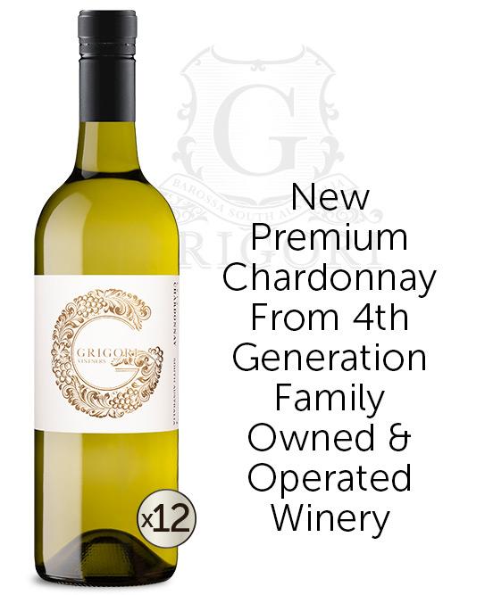 Grigori Vintners South Australia Chardonnay 2019 Dozen
