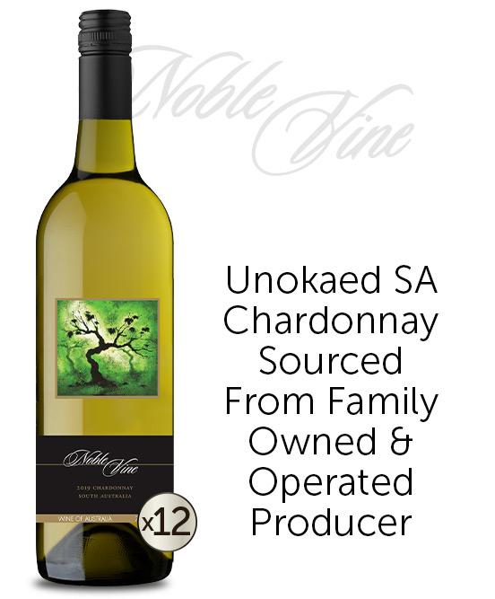 Noble Vine South Australia Chardonnay 2019 Dozen