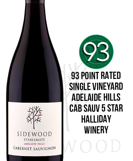 Sidewood Estate Stablemate Adelaide Hills Cabernet Sauvignon 2017