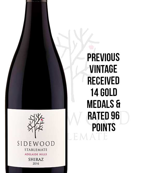 Sidewood Estate Stablemate Adelaide Hills Shiraz 2016